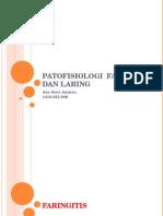 Patofisiologi Faring Laring