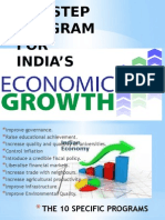 A10 STEP PROGRAM FOR ECONOMIC GROWTH