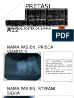 Interpretasi Radiograf Periapikal Posterior Fix