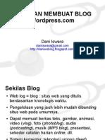 Panduan Membuat Blog Wordpress.com