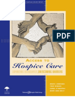 Access to Hospice Care