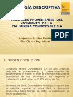 Presentación Mineralogía - UPN