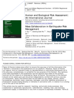 Mass Collaboration in Earthquake Risk Management