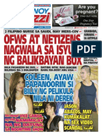 Pinoy Parazzi Vol 8 Issue 103 August 24 - 25, 2015