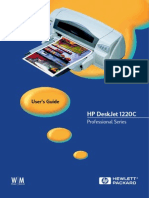 Guide HP 1220c