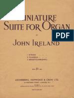 Ireland Miniature Suite for Organ