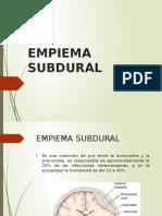 Empiema Subdural