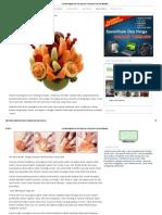Cara Merangkai Buah Dan Sayuran _ Kumpulan Cara Dan Manfaat