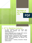 Lesson4-Role of ICT in Daily Life