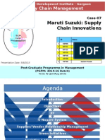 SCM Maruti Suzuki Case Section B Group 7.pptx