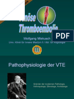 BLOCK 11 Venöse Thromboembolie 2008
