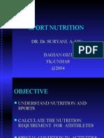 Suryani Sport Nutrition