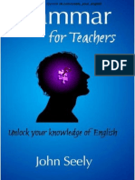 Grammar for Teachers Unlock Yr Knowledge