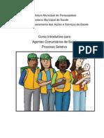 Apostila Agente Comunitário de Saúde