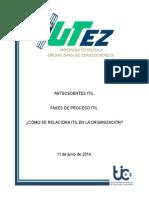 Antecedentes ITIL
