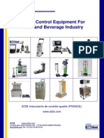 Quality Control Equipment for Beverages