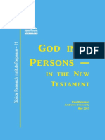 God in 3 Persons in the New Testament_Release_#11_Petersen
