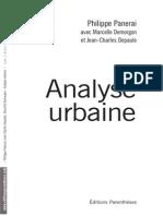 Panarai - Analyse Urbaine - Indice