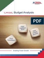Union Budget 2015-16-CRISIL Research Impact Analysis