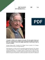 Chomsky Decalogo
