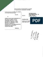 Class action lawsuit against Michael Ferro, Merge Healthcare