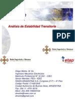 Analisis de Estabilidad Transitoria_ETAP 12