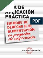 Guia Aplicacion Practica Del Derecho a La Alimentación en Proyectos.pdf