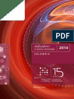Indicadores de Ciencia y Tecnología 2014 - Colombia