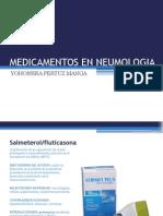 Medicamentos en Neumologia