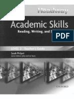NHW Academic Skills Level 2 TG 2006