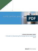 Assessing Exchange Server Licensing