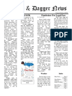 Pilcrow and Dagger Sunday News 8-23-2015 Vol 2 Ed 27