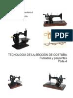 21 -Tecnologia Del Sector Costura 4 Puntadas y Pespuntes