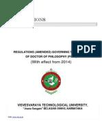 Phd Regulation 2015