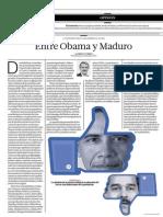 Entre Obama y Maduro