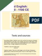 Old English Summary