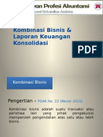Kombinasi bisnis - konsolidasi