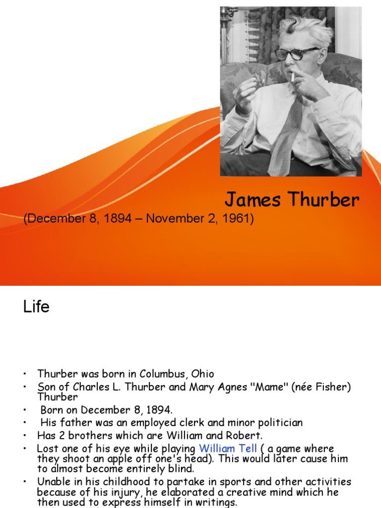 a thurber carnival summary