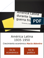 América Latina Durante La Guerra Fría