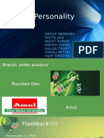Brand Personality Fins