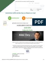 Audiolibros Gratis de Alex Dey Los Mfadsfdsejores en Mp3 PDF Descargar Gratis