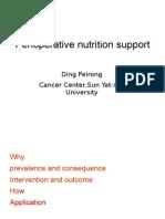 Perioperative Nutrition Support
