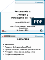 Geologaymetalogeniadelper Jorgeacosta 131119131632 Phpapp02