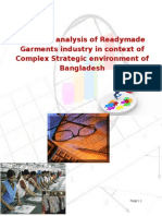 Business Competitive Analysis of RMG Industry_Bangladesh . Sanzida Parvin