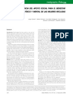 La importancia del apoyo social para el bienestar de mujeres reclusas (Galván, Romero y Durand)