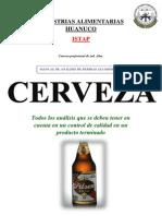 Control de calidad Cervezas