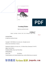 Oreilly - Learning Python