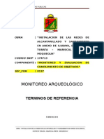 Plan Arqueologico Ilubaya