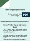 Victim Impact Statements