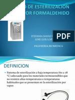 Esterilizacion Con Vapor Formaldehido
